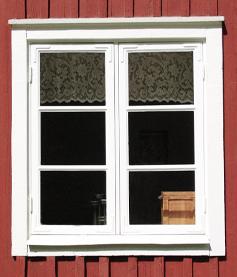 Klassiskt svenskt fönster